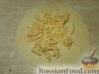 Фото приготовления рецепта: Хачапури постные - шаг №7
