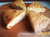 Фото к рецепту: Постный апельсиновый кекс