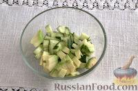 Фото приготовления рецепта: Тарталетки с салатом из горбуши, мяты и авокадо - шаг №7