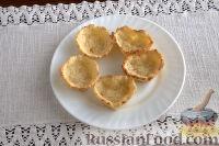 Фото приготовления рецепта: Тарталетки с салатом из горбуши, мяты и авокадо - шаг №6