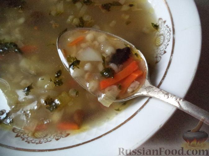 рецепт супа без мяса и без грибов