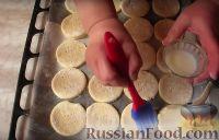 Фото приготовления рецепта: Сырные лепешки - шаг №3