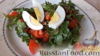 Фото к рецепту: Салат с грибами и помидорами