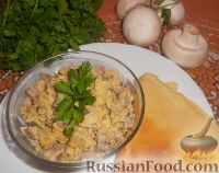 Фото к рецепту: Грибная начинка для блинчиков и пирожков