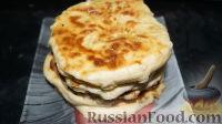 Фото к рецепту: Лепешки с картошкой, луком и сыром