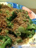 Фото к рецепту: Капуста брокколи в сухарях