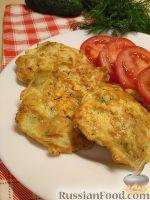 Фото к рецепту: Куриные отбивные в кляре со сметаной и зеленью