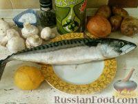 Фото приготовления рецепта: Итальянский рецепт приготовления скумбрии - шаг №1