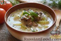 Фото к рецепту: Сырный суп (в мультиварке)