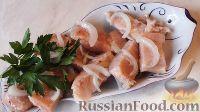 Фото к рецепту: Маринованная горбуша