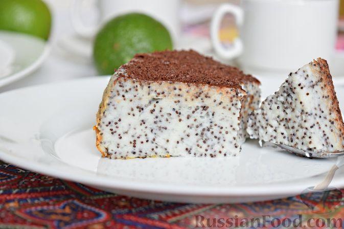 рецепт торта с маком в мультиварке