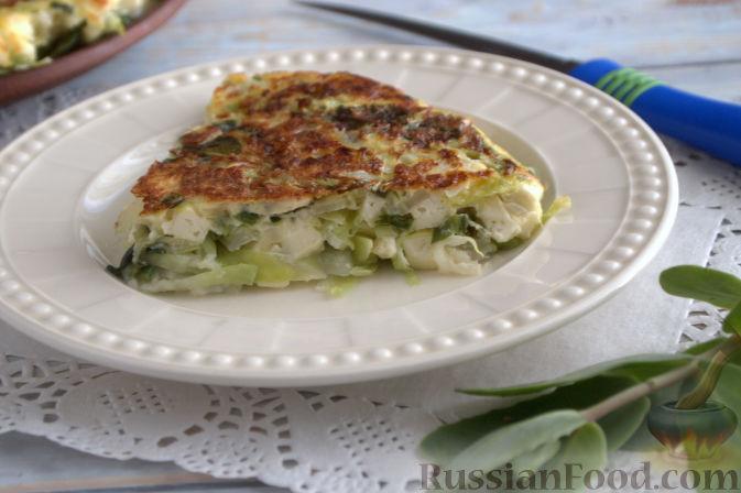 Рецепт запеканки из кабачков и с адыгейским сыром