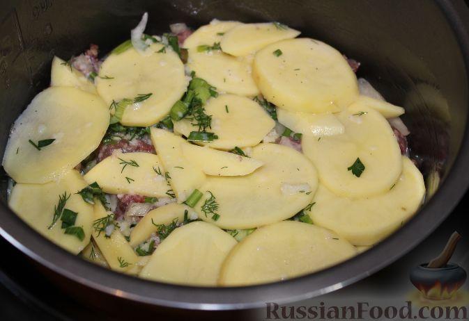 Запеканка картофельная с фаршем рецепт