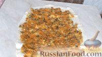 Фото приготовления рецепта: Рулет из лаваша с грибной начинкой - шаг №5