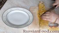 Фото приготовления рецепта: Рулет из лаваша с грибной начинкой - шаг №8
