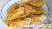 Фото приготовления рецепта: Рулет из лаваша с грибной начинкой - шаг №9