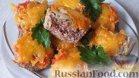 Фото к рецепту: Мясные маффины с грибами