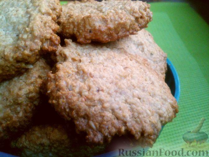 рецепт печенья из овсяной крупы