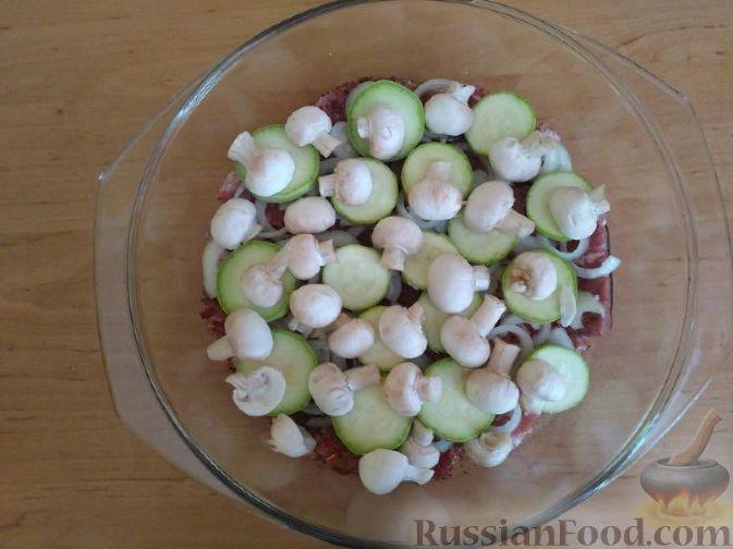 рецепты приготовления мяса с грибами в духовке