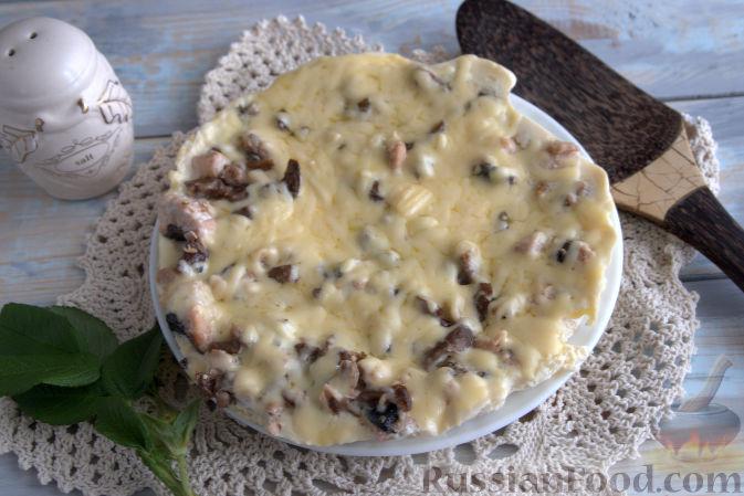запеканка в мультиварке рецепты из картошки с грибами