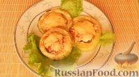 Фото к рецепту: Фаршированные кабачки, запеченные в духовке