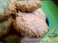 Фото к рецепту: Печенье овсяное из геркулесовой крупы