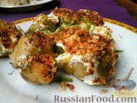 Фото к рецепту: Капуста брюссельская со сметаной