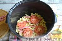 Фото приготовления рецепта: Запеканка из макарон (в мультиварке) - шаг №6