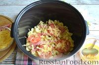 Фото приготовления рецепта: Запеканка из макарон (в мультиварке) - шаг №7