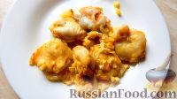 Фото к рецепту: Язычки трески, запеченные  в духовке