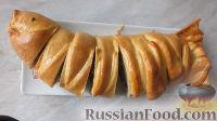 """Фото к рецепту: Дрожжевой пирог """"Рыбник"""""""