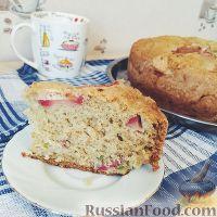 Фото к рецепту: Пирог с киви и яблоком (в мультиварке)