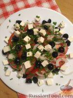 Фото к рецепту: Салат с плавленым сыром