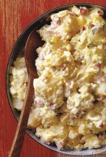 картофельный салат с уксусом рецепт