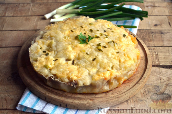 рецепт запеканки с картофельным пюре в мультиварке