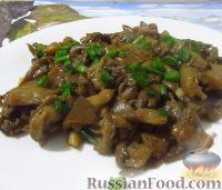 Фото к рецепту: Жареные вешенки в соевом соусе