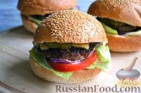 Фото к рецепту: Бургер классический