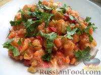 Фото к рецепту: Курица в овощном рагу