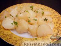 Фото к рецепту: Картофель тушеный как гарнир