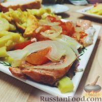 Фото к рецепту: Филе форели в духовке