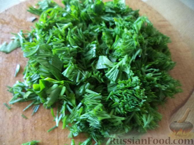 Фото приготовления рецепта: Салат из дайкона и яблок - шаг №4