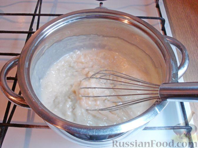 Фото приготовления рецепта: Вареники с черешней (на заварном тесте) - шаг №4