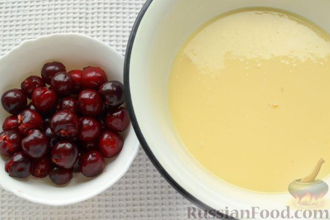 Фото приготовления рецепта: Черешневый тарт - шаг №6