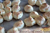 Фото приготовления рецепта: Заварные пирожные с клубникой - шаг №8