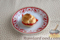 Фото приготовления рецепта: Заварные пирожные с клубникой - шаг №10