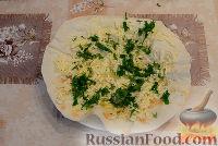 Фото приготовления рецепта: Закуска ёка с зеленью - шаг №2