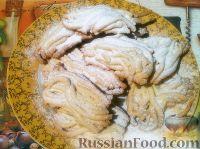 Фото к рецепту: Печенье с сахарной пудрой