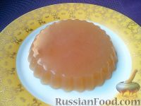 Фото к рецепту: Желе из яблочного сока