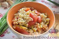 Фото к рецепту: Перловая каша с овощами (в мультиварке)