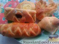 Фото к рецепту: Вкусные булочки из дрожжевого теста